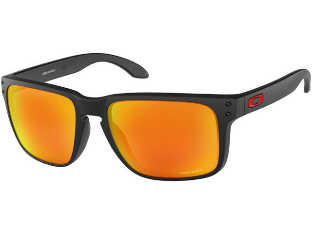 Oakley Holbrook XL - Lunettes cyclisme - orange/noir